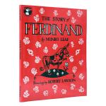 【中商原版】英文原版绘本 凯迪克大奖作品 The Story of Ferdinand 爱花的牛有趣的故事绘本7-10