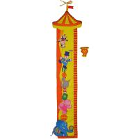 拉拉布书婴幼儿益智玩具启蒙与认知宝宝早教 量高尺-马戏团