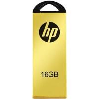 [大部分地区包邮] 惠普(hp)黄金纪念版U盘 V225W 16G 优盘,金属外壳!
