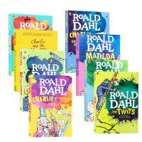 Roald dahl 罗尔德达尔作品集8册 进口英文原版小说 The Witches女巫 Going Solo 独闯天
