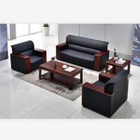 先创XC-SF3006单人位+单人位+三人位+方茶几+长茶几(牛皮)组合沙发
