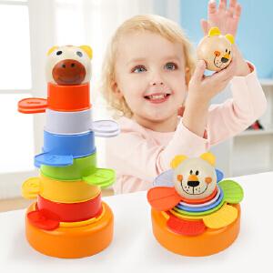当当自营 特宝儿1-2岁动物套杯叠叠乐玩具120322