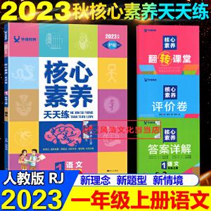 2021春核心素养天天练一年级下册语文人教版部编版同步训练辅导资料