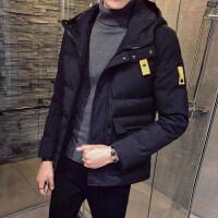 男士外套冬季2018新款韩版潮流工装冬天棉袄加厚棉衣男装外套袋宽飞行经典款冬学生