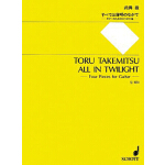 预订 All in Twilight: 4 Pieces for Guitar [ISBN:9784890663514