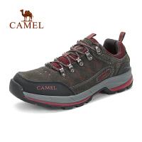 camel骆驼户外徒步鞋 秋冬新品低帮耐磨登山鞋 徒步运动鞋