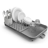 joseph Joseph英国进口 可伸缩碗碟架 沥水架 餐具收纳架80071