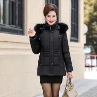 中老年棉衣女装短款妈妈装棉袄中年人40-50-60岁冬装外套羽绒