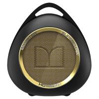 MONSTER/魔声 Superstar Hotshot 无线蓝牙音箱 大音量扩音器 挂钩设计户外便携迷你小音响 黑金