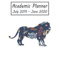 预订 Academic Planner July 2019 - June 2020: Lion Weekly and