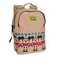 迪士尼/Disney BM0602C/黄色 小学生书包男女1-3-4年级米奇减负双肩背包儿童8-10-12岁新年开学礼