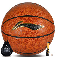 LINING/李宁篮球CBA比赛用球 水泥地室内室外通用球044-P 标准7号蓝球