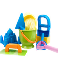 儿童沙滩玩具套装玩沙子玩具挖沙工具铲子沙漏小水桶宝宝大号