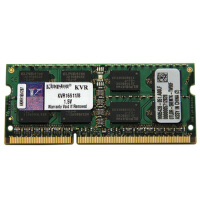金士顿(Kingston)DDR3 1600 8G 笔记本内存条 速度与稳定 1.35V低电压产品,可降低发热,增强寿