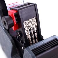 单排标价机 超市商品打价器打价格标签机 手动标价机打价格打生产日期打码器小型单排价格数字标签打印机