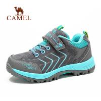 Camel骆驼 户外童款登山鞋 秋冬出游徒步防水抗冲击儿童登山鞋