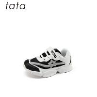 【159元任选2双】他她/tata童鞋女童运动鞋秋季中大童时尚老爹鞋儿童减震休闲鞋(3-15岁可选)W80556