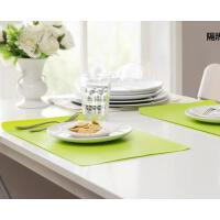 糖果色塑料防油污pvc餐垫 隔热垫防滑餐具垫子碗垫杯垫