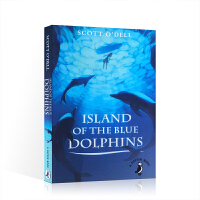 英文原版 Island of the Blue Dolphins 蓝色海豚岛 纽伯瑞金奖 Scott O'Dell 儿