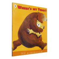 点读版 进口英文原版 Where's My Teddy 我的泰迪在哪里 宝宝启蒙好帮手 [3-6岁]