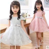 儿童公主裙休闲百搭童装女童连衣裙户外新款中大童纱裙韩版时尚小女孩裙子