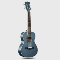 响亮 2018新款 23寸桃花心木尤克里里藏蓝色ukulele 乌克丽丽夏威夷小吉他