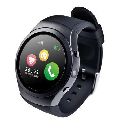 智能手表插卡心率GPS定位通话防水运动男女兼容苹果安卓 远程拍照/计步/三重定位/久座提醒/闹铃/音乐全贴合电容式触摸屏  接打电话 可测心率