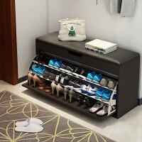 老睢坊 鞋柜家用门口 可坐鞋架简易多层防尘省空间多功能经济收纳储物柜