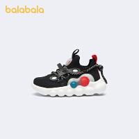 【抢购价:159.9】巴拉巴拉童鞋儿童运动鞋男女小童宝宝小白鞋慢跑2021春秋新款柔软