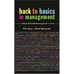 预订 Back to Basics in Management: A Critique of the Fabled M
