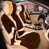 Mubo牧宝原生态羊剪绒羊毛汽车坐垫冬季保暖透气五座通用座垫座套进口羊毛AHD101