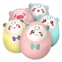 活石婴儿玩具不倒翁点头娃娃3-6-9-12个月宝宝0-1岁早教益智