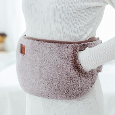 水袋暖宝宝充电暖手宝暖水袋毛绒女暖肚子热宝宝煖宫腰带