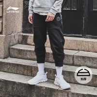 李宁卫裤男士韦德系列秋季长裤休闲裤子男装运动裤AKLM399