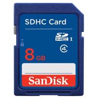 SanDisk 闪迪  8G SD HC 存储卡 Class4