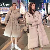 2019新款辣妈宽松孕后期棉袄大码外套孕妇秋冬装棉衣