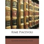 预订 Rime Piacevoli [ISBN:9781148563787]