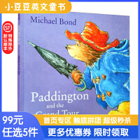 进口英文原版 Paddington and the Grand Tour 帕丁顿当导游 4-8岁