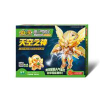 奥拉星超人气亚比造型玩具(升级版)―天空之神(无需胶水、剪刀的3D立体益智手工拼插)