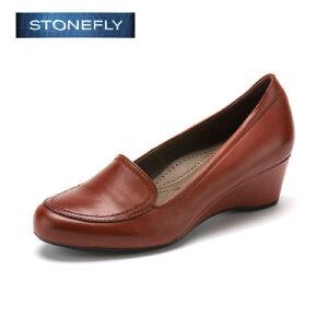 【3折到手价101.7元】STONEFLY/斯通富来驾车鞋孕妇妈妈鞋上班商务防滑女单鞋SD43112002