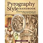 预订 Pyrography Style Handbook: Artistic Woodburning Methods