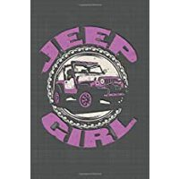 预订 Jeep Girl Dot Grid: 6 x 9 Journal [ISBN:9781710743661]