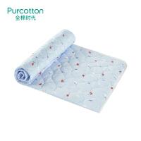 全棉时代婴儿隔尿垫防水可洗纯棉宝宝大号超大加厚防漏尿床垫床单