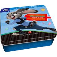 迪士尼卡通全明星铁盒拼图书――疯狂动物城・失踪的大冰棍