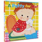 英文原版绘本0 3岁 Karen Katz 卡伦卡茨 A Potty for Me! 马桶时间 幼儿行为习惯早教养成