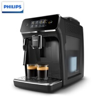 飞利浦EP2121/62 意式全自动咖啡机 带触控显示屏 自带打奶泡系统