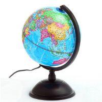 地球仪 志诚20CM全塑防水带灯光标准教学地球仪