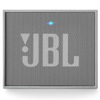 JBL GO音乐金砖 随身便携HIFI 蓝牙无线通话音响 户外迷你小音箱 灰色