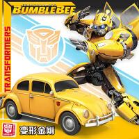【限时2件5折】孩之宝变形金刚6玩具5遥控汽车大黄蜂机器人男孩擎天柱正版模型