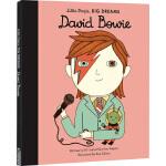 英文原版 David Bowie 大卫鲍威 励志读物 Little People Big Dreams 小人物大梦想系